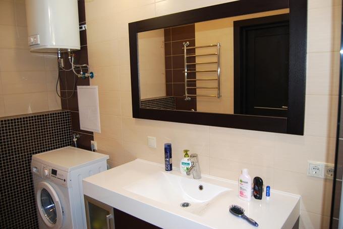 Ванная (установка сантехпосуды, замена полотенцесушителя)